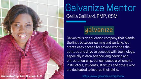 Galvanize Mentor Cerila Gailliard