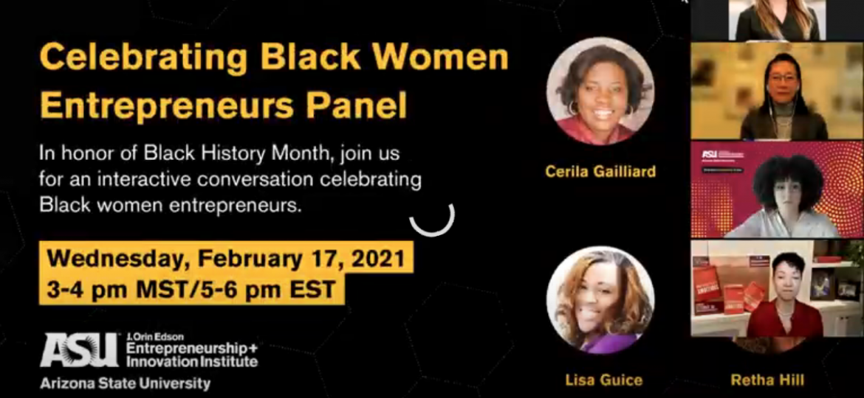 Black Women Entrepreneurs Panel