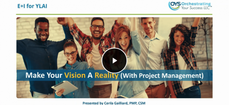 Make Your Goals A Reality (with Project Management)